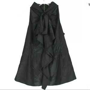 bebe Sleeveless Bow Top With Zip Up Back ff20